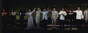 1995 - Japón - Elenco - Con O. Tripodi, Víctor Lavallen, Mauricio Marcelli, Guillermino Reis, Roberto Herrera, Bringas, Navarro, Hugo Romero