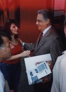 1999 - Junto al Ex Presidente de Brasil Cardozo en La Boca (Caminito)