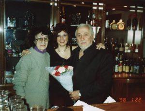 2004 - Con Coco Fernandez y la dueña de la Casa del Tango