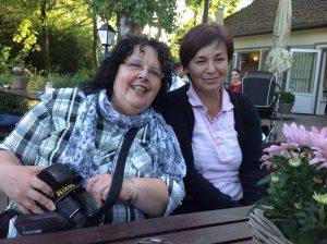 2013 Alemania.Con Carmen Cornelius y Lea Machado