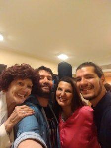 2017 Casa del Teatro junto a Hernan Pairetti, Nelly Vazquez y Max Chaves