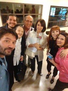 2017 Casa del Teatro junto a LInda Peretz, Hernan Pairetti, Max Chavez, Ivonne, Nora Carpena