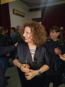 2019 Recibiendo premio Tablas 2019 a la trayectoria intachable.