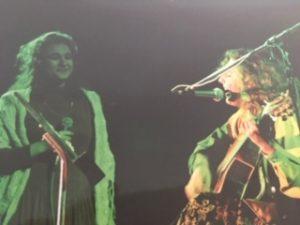 1992 Auditorio de Radio Nacional junto a Yamila Cafrune