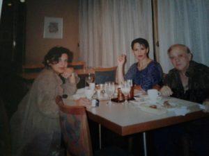 1999. Japón junto a Graciela Cabrera y Cachito Giannini gira c Di Paulo