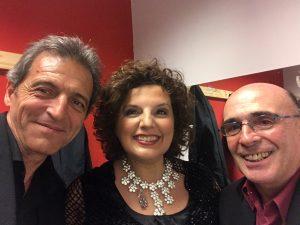 2018 junto a Juan Martinez y Osvaldo Avena Teatro Roma
